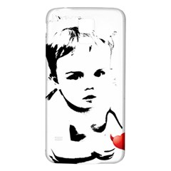 Cupid s Heart Samsung Galaxy S5 Back Case (white)