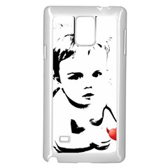 Cupid s Heart Samsung Galaxy Note 4 Case (white)