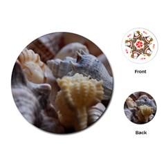 Seashells Playing Cards (round)