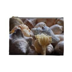 Seashells Cosmetic Bag (large)