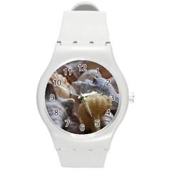 Seashells Round Plastic Sport Watch (m)