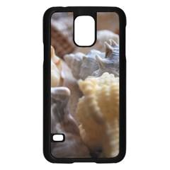 Seashells Samsung Galaxy S5 Case (black)
