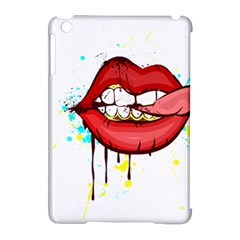 Bit Your Tongue Apple Ipad Mini Hardshell Case (compatible With Smart Cover)