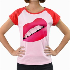 Smile Women s Cap Sleeve T Shirt