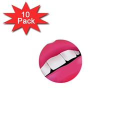 Smile 1  Mini Buttons (10 Pack)