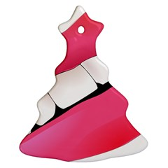 Smile Christmas Tree Ornament (two Sides)