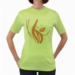 Pinky Women s Green T Shirt