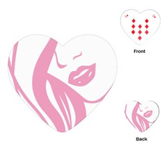 Pinky Playing Cards (heart)