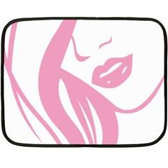 Pinky Fleece Blanket (mini)