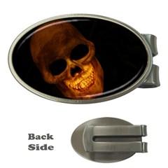 Skull Money Clips (oval)
