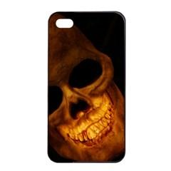 Skull Apple Iphone 4/4s Seamless Case (black) by sherylchapmanphotography