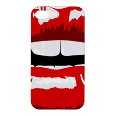 Sexy Mouth  Apple Iphone 4/4s Hardshell Case
