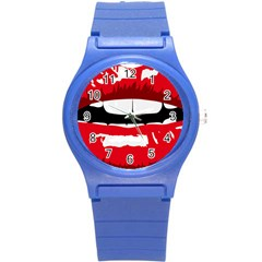 Sexy Mouth  Round Plastic Sport Watch (s)