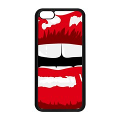 Sexy Mouth  Apple Iphone 5c Seamless Case (black)