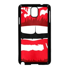 Sexy Mouth  Samsung Galaxy Note 3 Neo Hardshell Case (black)