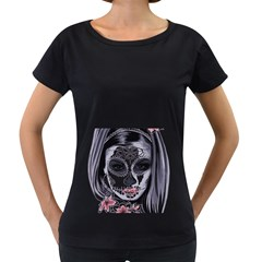 Sugar Skull Women s Loose Fit T Shirt (black)