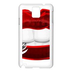 Bite Me Samsung Galaxy Note 3 N9005 Case (white)