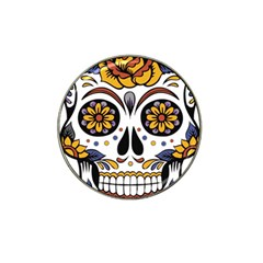 Sugar Skull Hat Clip Ball Marker (10 Pack)