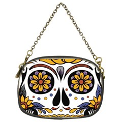 Sugar Skull Chain Purses (two Sides)