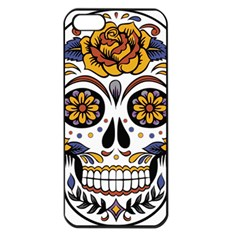 Sugar Skull Apple Iphone 5 Seamless Case (black)