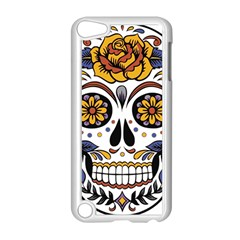 Sugar Skull Apple Ipod Touch 5 Case (white)