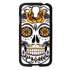 Sugar Skull Samsung Galaxy S4 I9500/ I9505 Case (black)