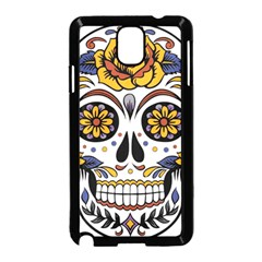 Sugar Skull Samsung Galaxy Note 3 Neo Hardshell Case (black)