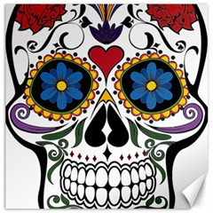 Cranium Sugar Skull Canvas 12  X 12