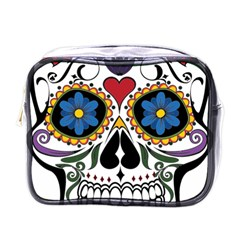 Cranium Sugar Skull Mini Toiletries Bags