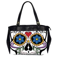 Cranium Sugar Skull Office Handbags (2 Sides)
