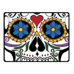 Cranium Sugar Skull Fleece Blanket (small)