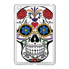 Cranium Sugar Skull Apple Ipad Mini Case (white)