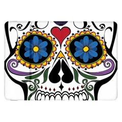 Cranium Sugar Skull Samsung Galaxy Tab 8 9  P7300 Flip Case