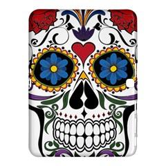 Cranium Sugar Skull Samsung Galaxy Tab 4 (10 1 ) Hardshell Case  by sherylchapmanphotography