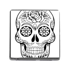 Sugar Skull Memory Card Reader (square)