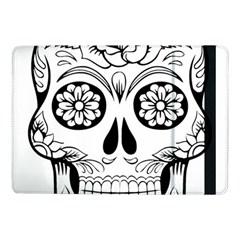 Sugar Skull Samsung Galaxy Tab Pro 10 1  Flip Case