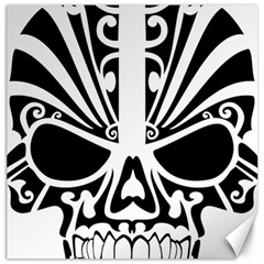 Tribal Sugar Skull Canvas 20  X 20   by sherylchapmanphotography