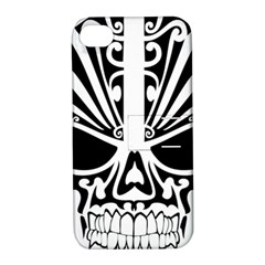 Tribal Sugar Skull Apple Iphone 4/4s Hardshell Case With Stand