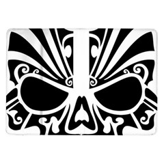 Tribal Sugar Skull Samsung Galaxy Tab 10 1  P7500 Flip Case