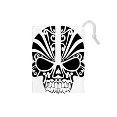 Tribal Sugar Skull Drawstring Pouches (small)