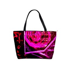 Calligraphy 2 Shoulder Handbags