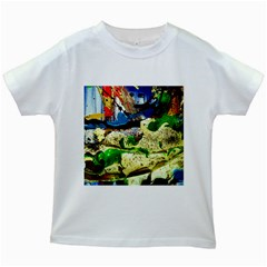 Catalina Island Not So Far 4 Kids White T Shirts