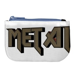 Heavy Metal  Large Coin Purse by sherylchapmanphotography