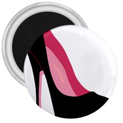 Black Stiletto Heels 3  Magnets by sherylchapmanphotography