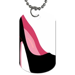 Black Stiletto Heels Dog Tag (one Side) by sherylchapmanphotography