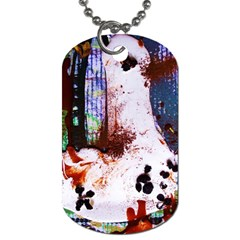 Doves Match 1 Dog Tag (two Sides)
