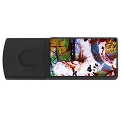 Doves Match 1 Rectangular Usb Flash Drive