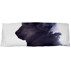 Black Wolf  Body Pillow Case (dakimakura)