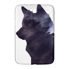 Black Wolf  Samsung Galaxy Note 8 0 N5100 Hardshell Case