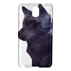 Black Wolf  Samsung Galaxy Note 3 N9005 Hardshell Case